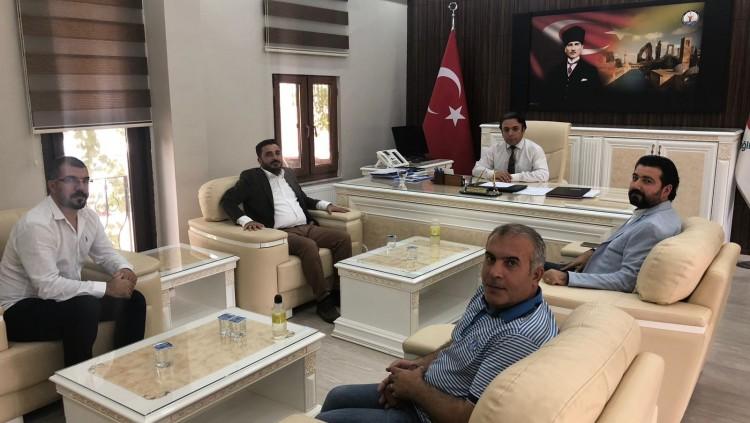 Şanlıurfa Tabip Odası Olarak İl Sağlık Müdürü Dr. Himmet Durgut'la görüştük.