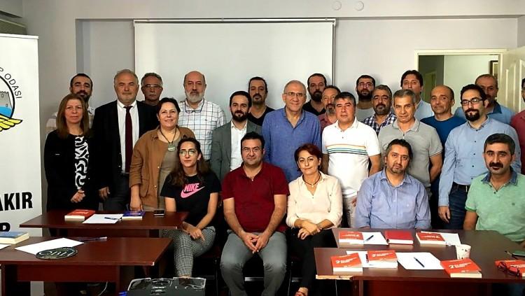 Diyarbakır'da Yapılan TTB Aile Hekimliği Kol Toplantısına Katıldık.