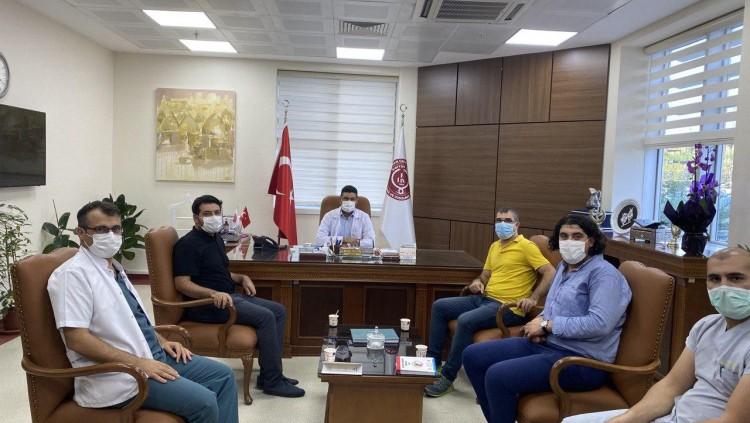 Harran Üniversitesi Tıp Fakültesi Dekanlığı ve Başhekimliği ile Görüşme Gerçekleştirildi