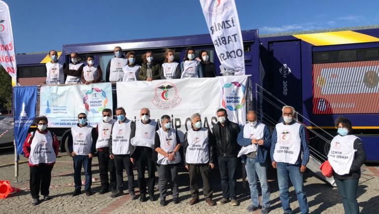 İzmir'de Deprem Bölgesine Ziyaret Gerçekleştirildi