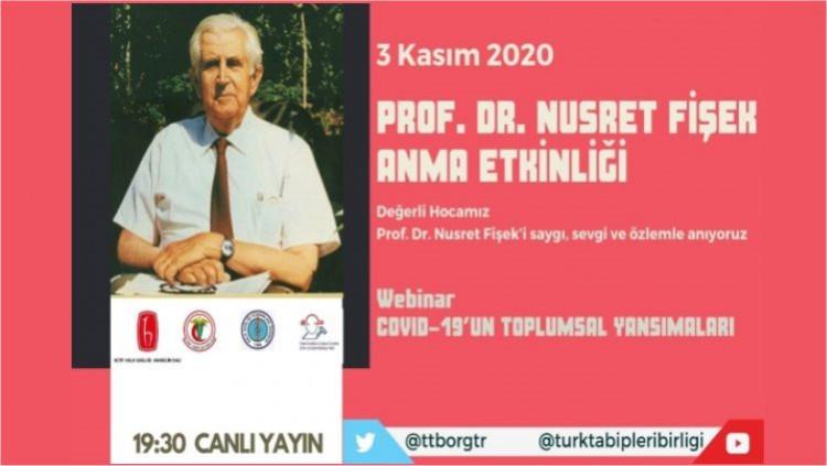 Prof. Dr. Nusret Fişek Anma Etkinliği