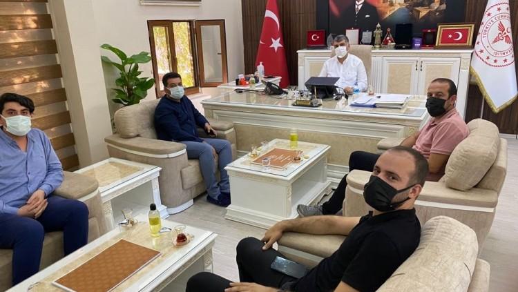 Şanlıurfa İl Sağlık Müdürlüğüne atanan Prof. Dr. Mehmet Gülüm'ü Ziyaret Ettik.