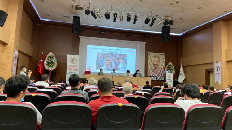 Şanlıurfa Tabip Odası 2020-2022 Dönemi Olağan Genel Kurulu 18 Temmuz 2020 tarihinde gerçekleştirildi.